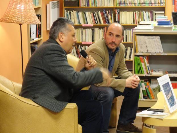 Alejandro Saravia y Diego Creimer