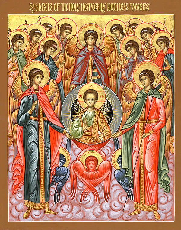 The Liturgic Assembly of the Heavenly Hosts