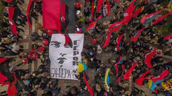Новости Украины - Марш националистов с высоты и убитая ...