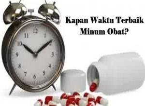 waktu tepat minum obat