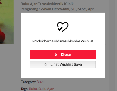 "Toko Apoteker Online Kini Miliki Fitur ""Wishlist"" atau ""Daftar Harapan"""