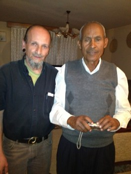 My gracious Host Professor Ermias Dagne & myself. Addis Ababa 2013