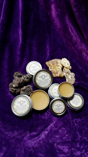 Abyssinian Twirling Wax. A Frankincense based Moustache wax.