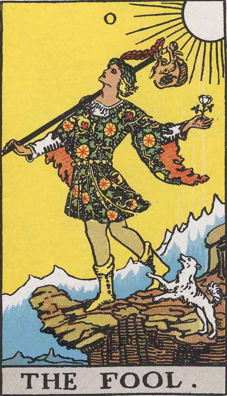 Card Number 0,The Fool. Says it all.