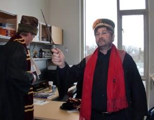 Jack Davidson and Gary McGraw as wizards at UVa.