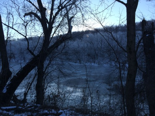 Blue River, Ice trees