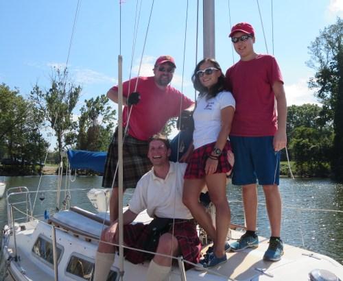 The Team Tartan Crew