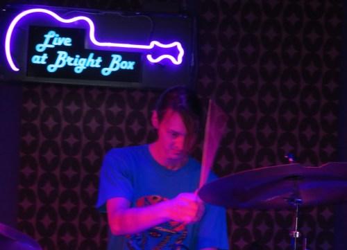 James Muschler drummer for Moon Hooch