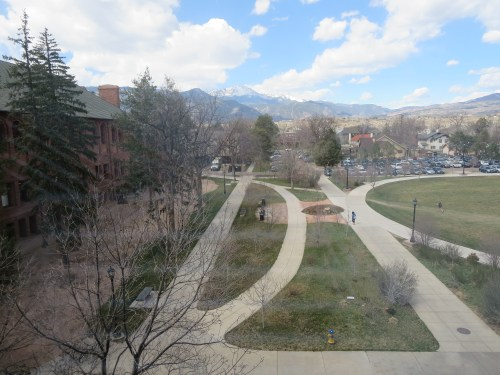 Colorado College and Pike's Peak