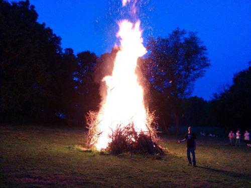 2015 Summer Solstice Fire