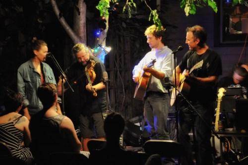 Ritt's band includes Wilder Dietz, his very talented son