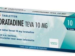 Loratadine anti allergie