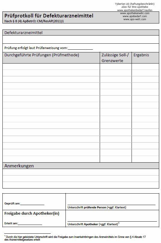 Prüfung von Defekturarzneimitteln   ApothekenWiki