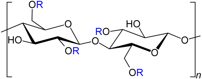 Carboxymethylcellulose Strukturformel