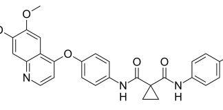 Cabozantinib Strukturformel