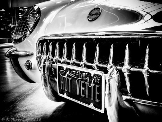 Chevrolet Corvette Cabrio του 1954, Μουσείο Auto & Technik, Sinsheim, Βάδη-Βυρτεμβέργη, Γερμανία (1954 Chevrolet Corvette Cabrio, Auto & Technik Museum, Sinsheim, Baden-Württemberg, Germany).