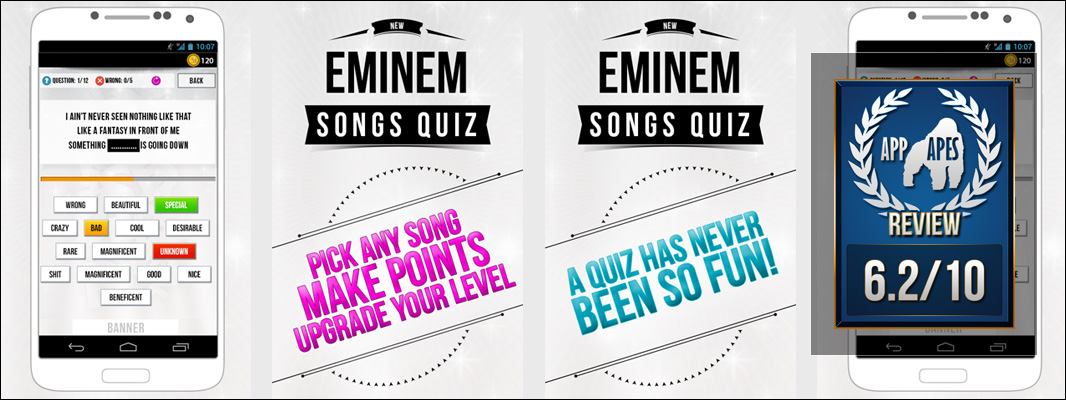 Eminem – Songs Quiz Review