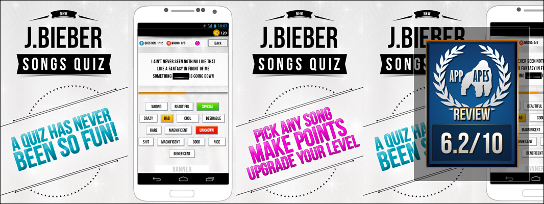 Justin Bieber – Songs Quiz