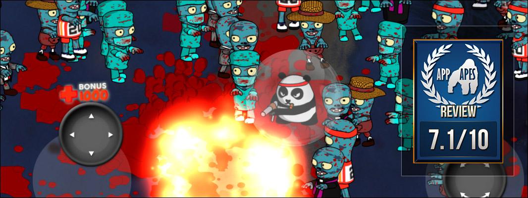 Panda vs Zombie: Elvis rage ⋆ App Apes