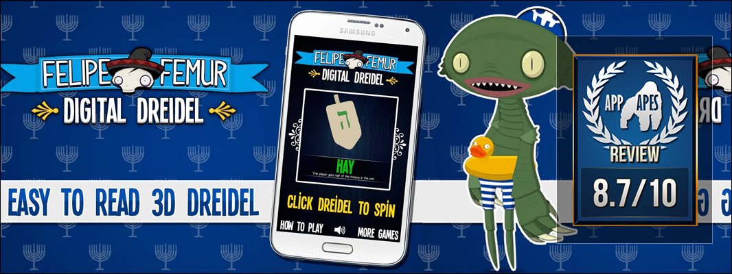 Felipe Femur: Digital Dreidel Review