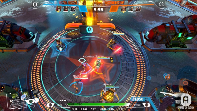 Video games of Glory is a aggressive top-down staff shooter coming to PlayStation four
