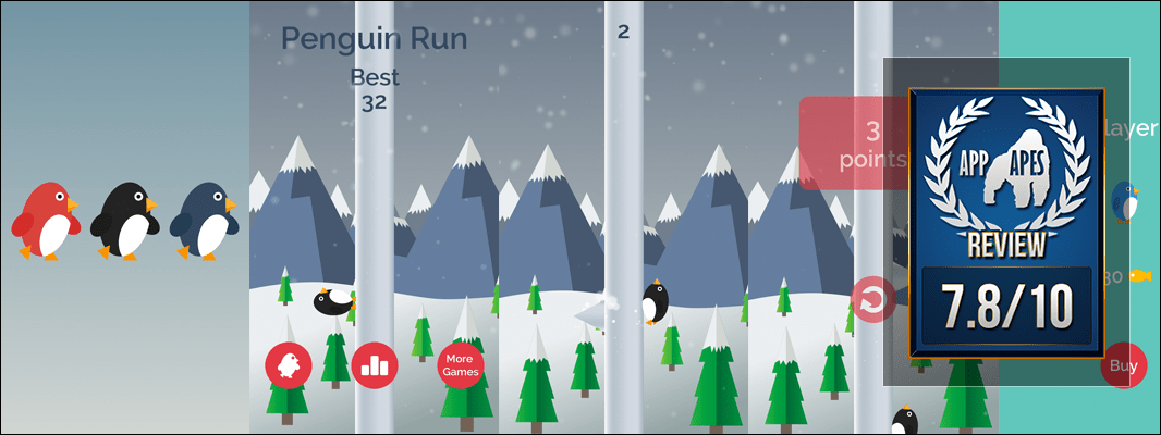 Penguin Run Saga, Cartoon