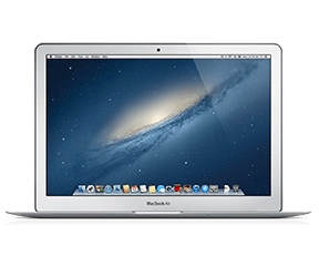 macbookair正面
