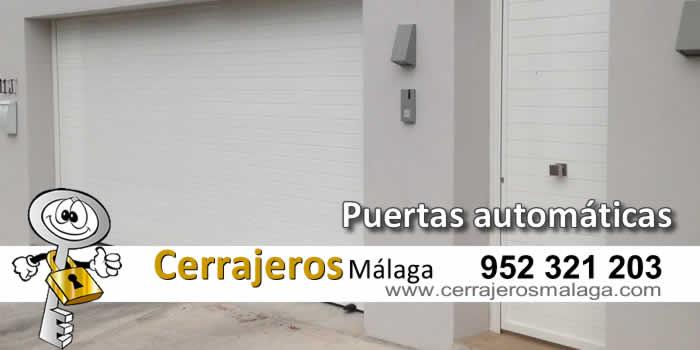 Puertas automáticas en Málaga