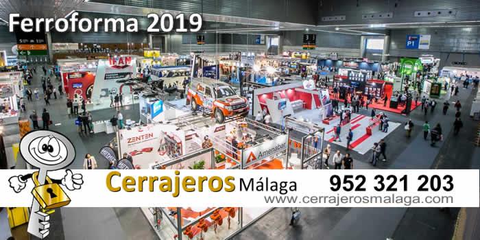 Cerrajeros Málaga ha estado en la feria de Ferroforma 2019