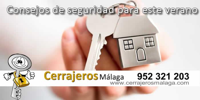 Consejos de seguridad para este verano en Málaga
