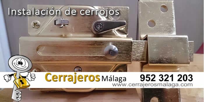 Instalación de cerrojos en Málaga