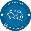 Heather T Intellifluence Influencer Badge