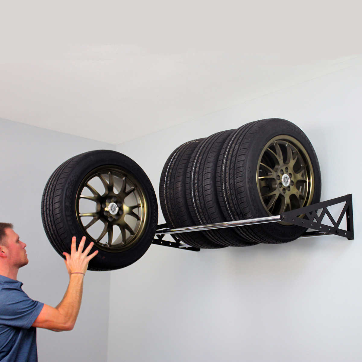 400 lbs wall mounted tire storage