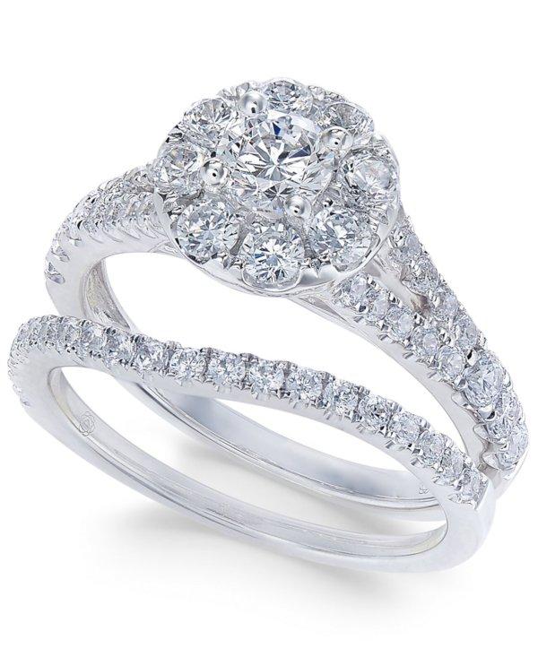Купить Кольца Набор для новобрачных с бриллиантами (1-1 ...
