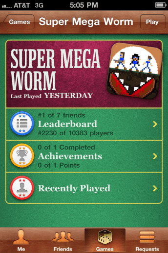 supermegaworm Game Center 1