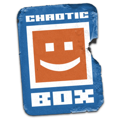 Chaotic Box Sticker Logo