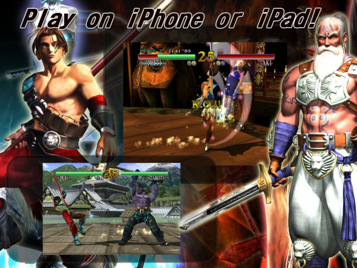 Namco's iOS Release of Soul Calibur Fails To Live Up To Its Legacy