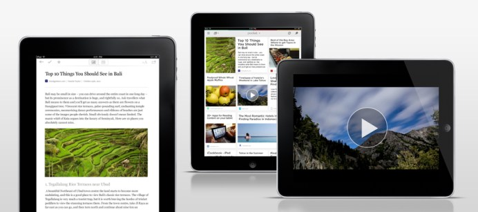 Pocket Product Lineup Article View iPad