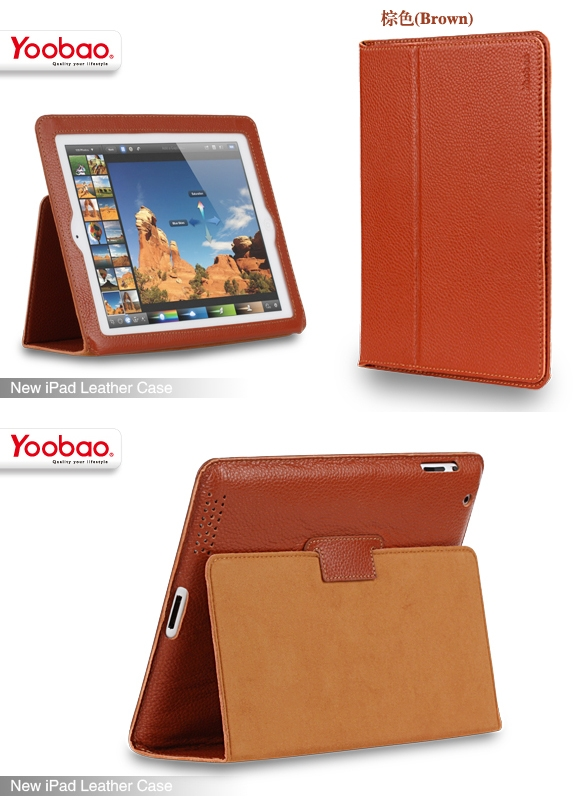 Video Review: Yoobao Executive Leather Case for iPad (3rd Gen)
