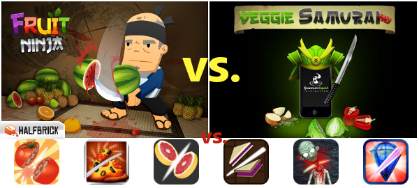 A Healthy Ninja Is A Happy Ninja : Beimers Takes A Stab At 'Slicing' Games