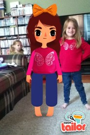 Emily and her twin
