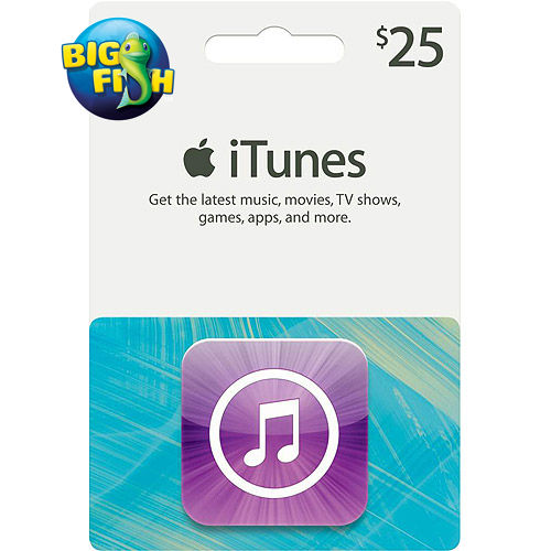 We 39 re giving away a 25 itunes gift card courtesy of big for Big fish games phone number