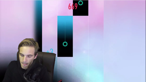 YouTuber PewDiePie Flexes His Fast Fingers With Cheetah Mobile's Frenetic, Musical Sequel, 'Piano Tiles 2'