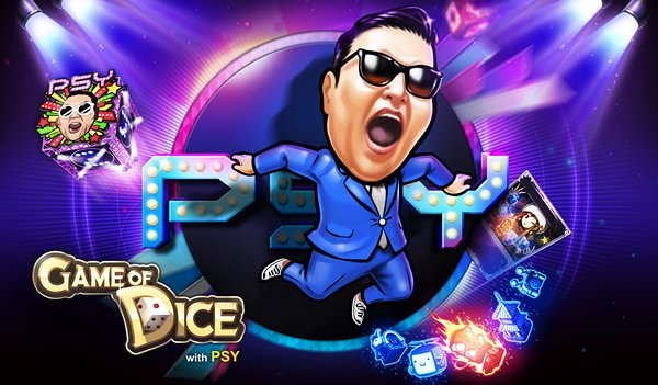 Get PSYched! Play Game of Dice Now And Receive 2,500 gems Worth of Gifts