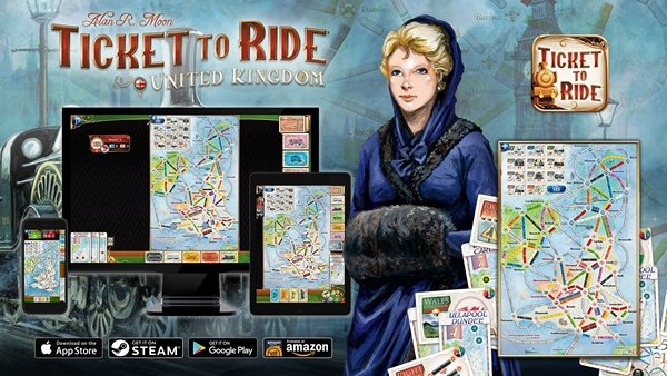 Asmodee Digital Has Added UK Map with New 'Technology' Game Mechanic