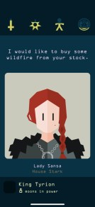 Reigns_GameOfThrones - Screen 1