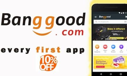 Banggood – Nieuwe klanten krijgen 10% kortingsbon