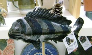 107 - BT fish pottery