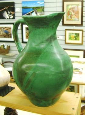 112 - Sandra McEntire - pottery pitcher