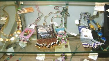 13 - June Bunnell - tiny beaded jewelry